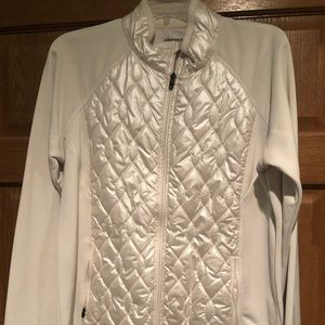 Quilted and Stretch shell layer